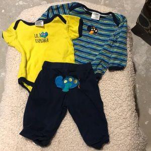 Boys Baby Gear 3 piece set